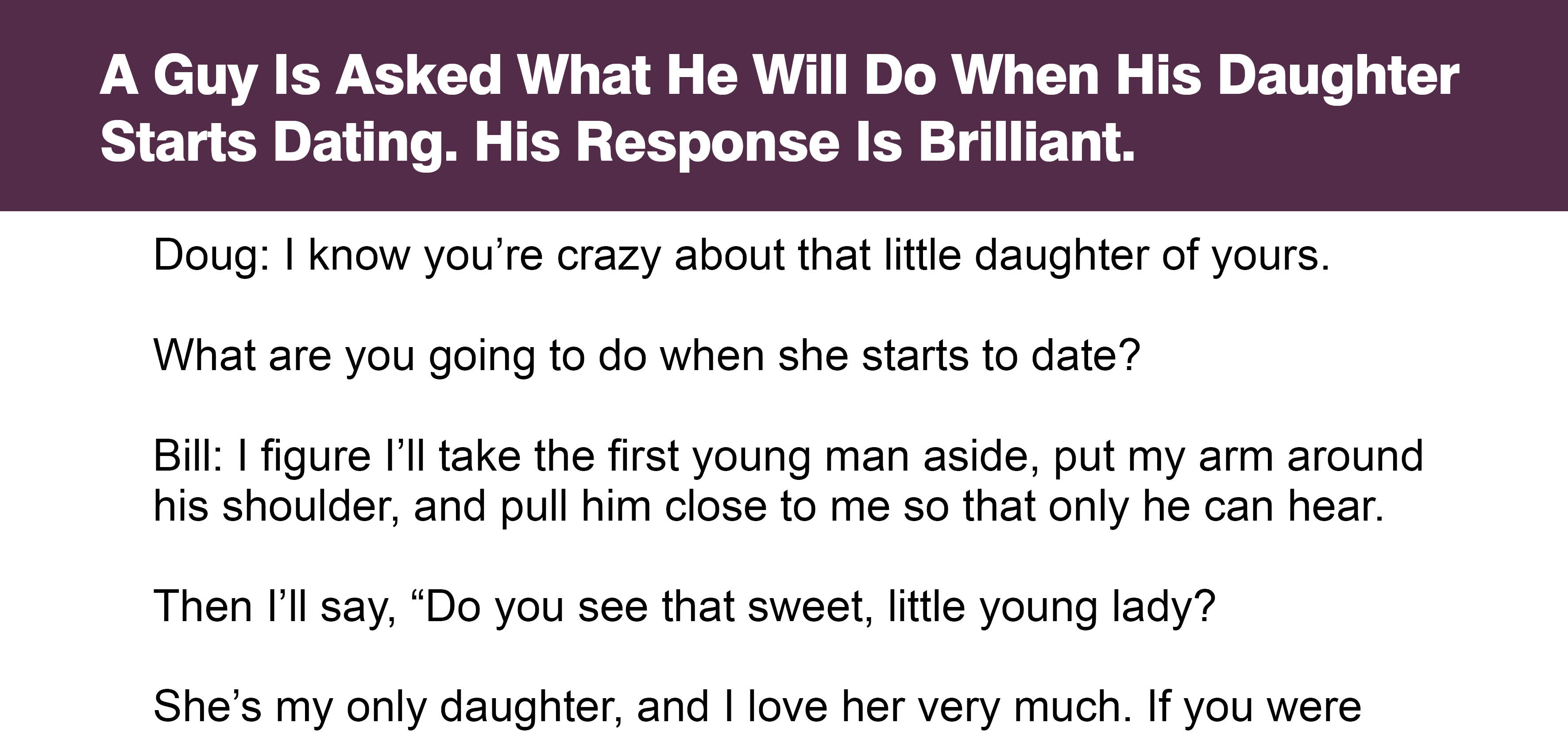 dating a guy with a young daughter